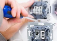 Handyman Installing Socket